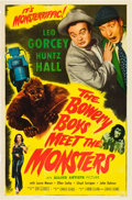 "Movie Posters:Comedy, The Bowery Boys Meet the Monsters (Allied Artists, 1954). One Sheet(27"" X 41"").. ..."