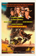 """Movie Posters:Western, Once Upon a Time in the West (Paramount, 1969). One Sheet (27"""" X 41"""").. ..."""