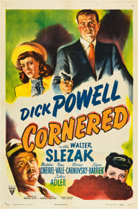 "Cornered (RKO, 1946). One Sheet (27"" X 41"")"