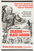 """Movie Posters:Horror, Creature from the Black Lagoon (Universal International, 1954). Military One Sheet (27"""" X 41"""").. ..."""