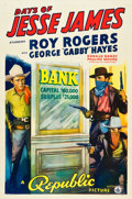 "Movie Posters:Western, Days of Jesse James (Republic, 1939). One Sheet (27"" X 41"").. ..."