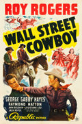 "Movie Posters:Western, Wall Street Cowboy (Republic, 1939). One Sheet (27"" X 41"").. ..."