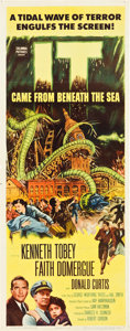 """Movie Posters:Science Fiction, It Came from Beneath the Sea (Columbia, 1955). Insert (14"""" X 36"""")....."""