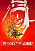 "Movie Posters:Academy Award Winners, Lawrence of Arabia (Columbia, 1962). German A1 (23.5"" X 33"").. ..."