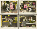 "Movie Posters:Comedy, Girl Shy (Pathé, 1924). Lobby Cards (4) (11"" X 14"").. ... (Total: 4Items)"