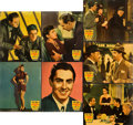 "Movie Posters:Crime, Johnny Apollo (20th Century Fox, 1940). Jumbo Lobby Cards (7) (14""X 17"").. ... (Total: 7 Items)"