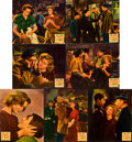 "Movie Posters:Romance, Seventh Heaven (20th Century Fox, 1937). Jumbo Lobby Cards (7) (14"" X 17"").. ... (Total: 7 Items)"