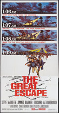 "Movie Posters:War, The Great Escape (United Artists, 1963). Three Sheet (41"" X 81"") Flat Folded. War.. ..."
