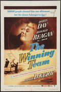 "Movie Posters:Sports, The Winning Team (Warner Brothers, 1952). One Sheet (27"" X 41""). Sports.. ..."