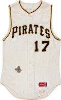 Baseball Collectibles:Uniforms, 1969 Pittsburgh Pirates Game Worn Jersey....