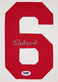 Baseball Collectibles:Others, Stan Musial Signed No. 6. ...