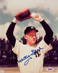 Baseball Collectibles:Photos, Whitey Ford Signed Photograph....