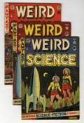 Golden Age (1938-1955):Science Fiction, Weird Science Group (EC, 1951-53) Condition: Average VG.... (Total: 6 Comic Books)