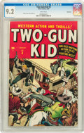 Golden Age (1938-1955):Western, Two-Gun Kid #3 Vancouver pedigree (Marvel, 1948) CGC NM- 9.2 Whitepages....