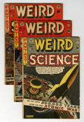 Golden Age (1938-1955):Science Fiction, Weird Science Group (EC, 1951-53) Condition: Average GD/VG....(Total: 7 Comic Books)