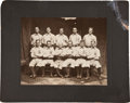 Baseball Collectibles:Photos, 1902-07 Springfield Ponies Imperial Cabinet Photograph from The Paddy O'Connor Collection....