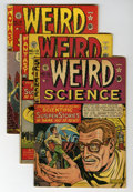 Golden Age (1938-1955):Science Fiction, Weird Science #12-15 Group (EC, 1950) Condition: Average GD/VG.... (Total: 4 Comic Books)