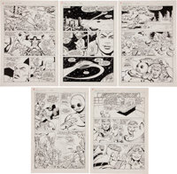 Carmine Infantino and Rodin Rodriguez The Best of DC #24 The Legion of Super-Heroes Page Original Art Group (DC, 1... (T...