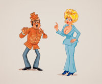 Little Annie Fanny Production Cel Animation Art (Playboy, undated)