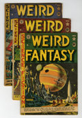 Golden Age (1938-1955):Science Fiction, Weird Fantasy Group (EC, 1951-53) Condition: Average FR/GD....(Total: 14 Comic Books)