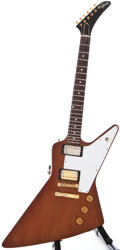 Musical Instruments:Electric Guitars, 1976 Gibson Explorer Natural Solid Body Electric Guitar, #00230417....