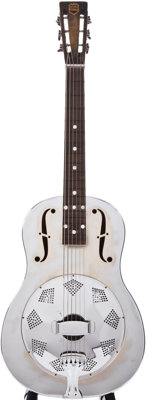 1930s National Triolian Chrome Resonator Guitar, #N/A
