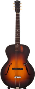 Musical Instruments:Acoustic Guitars, 1936 Gibson L-4 Sunburst Archtop Acoustic Guitar, #N/A....