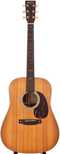 Musical Instruments:Acoustic Guitars, 2001 Martin SPD-16R Natural Acoustic Electric Guitar, #841725....