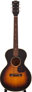 Musical Instruments:Acoustic Guitars, 1955 Gibson LG 3/4 Sunburst Acoustic Guitar, #W1274....