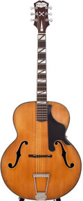 Musical Instruments:Acoustic Guitars, Paragon Deluxe Natural Archtop Acoustic Guitar, #N/A....