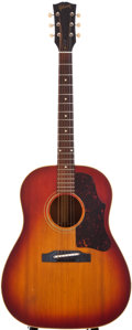 Musical Instruments:Acoustic Guitars, 1963 Gibson J-45 Sunburst Acoustic Guitar, #139744....