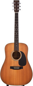 Musical Instruments:Acoustic Guitars, 1988 Martin D-28 Natural Acoustic Guitar, #478827....