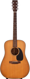 Musical Instruments:Acoustic Guitars, 1972 Martin D-18 Natural Acoustic Guitar, #307214....