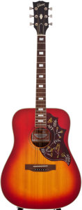 Musical Instruments:Acoustic Guitars, 1979 Gibson Hummingbird Sunburst Acoustic Guitar, #70939100....