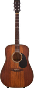 Musical Instruments:Acoustic Guitars, 1980 Martin D-25 K2 Natural Acoustic Guitar, #424689....