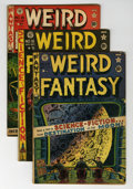Golden Age (1938-1955):Science Fiction, Weird Fantasy Group (EC, 1951-53) Condition: Average GD/VG.... (Total: 13 Comic Books)