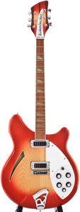 Musical Instruments:Electric Guitars, 1985 Rickenbacker 360 Fireglo Semi-Hollow Body Electric Guitar,#Y00620....