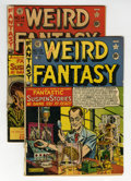 Golden Age (1938-1955):Science Fiction, Weird Fantasy #13 and 14 Group (EC, 1950) Condition: AverageFR/GD.... (Total: 2 Comic Books)