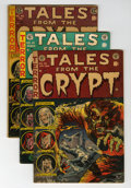 Golden Age (1938-1955):Horror, Tales From the Crypt Group (EC, 1951-55).... (Total: 7 Comic Books)
