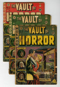 Golden Age (1938-1955):Horror, Vault of Horror Group (EC, 1950-55) Condition: Average FR/GD....(Total: 16 Comic Books)