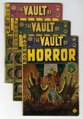 Golden Age (1938-1955):Horror, Vault of Horror Group (EC, 1950-55) Condition: Average GD....(Total: 11 Comic Books)