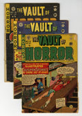 Golden Age (1938-1955):Horror, Vault of Horror #12, 13, and 16 Group (EC, 1950).... (Total: 3Comic Books)