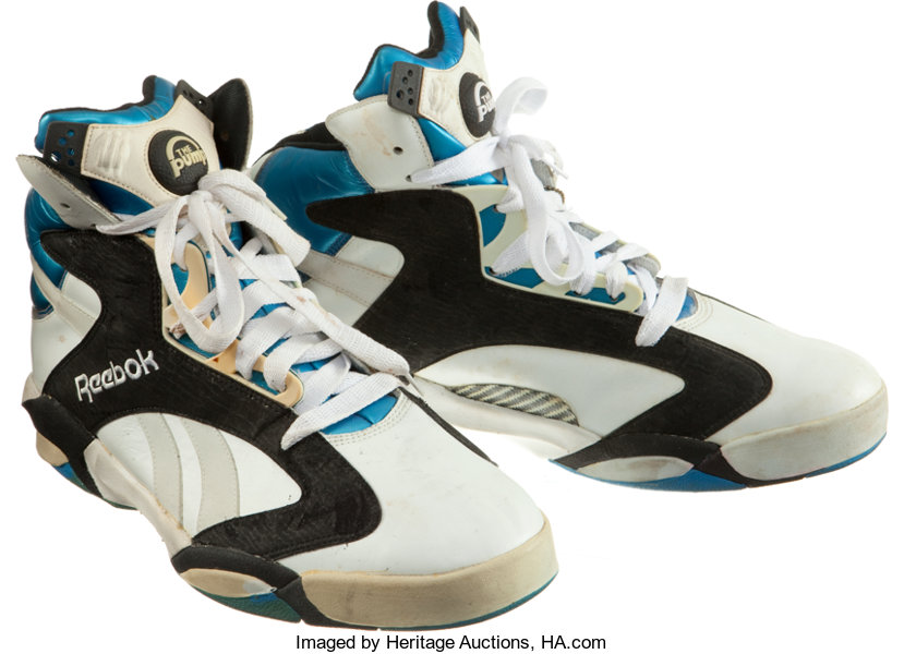 8766512b97f Early 1990 s Shaquille O Neal Reebok Pump Promotional Shoes ...