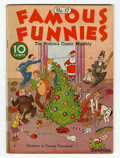 Platinum Age (1897-1937):Miscellaneous, Famous Funnies #17 (Eastern Color, 1935) Condition: GD/VG....