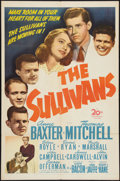 "Movie Posters:War, The Sullivans (20th Century Fox, 1944). One Sheet (27"" X 41"").War.. ..."