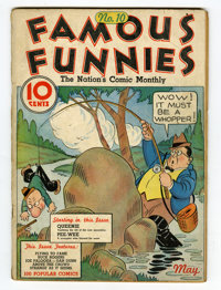 Famous Funnies #10 (Eastern Color, 1935) Condition: GD/VG