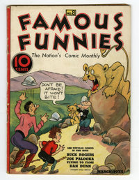 Famous Funnies #8 (Eastern Color, 1935) Condition: VG+