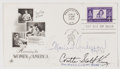 Autographs:Celebrities, Coretta Scott King and Marian Anderson Signed First Day Cover....