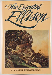 [JERRY WEIST COLLECTION]. Harlan Ellison. SIGNED/LIMITED. The Essential Ellison. Omaha: Nemo Pr