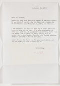 Autographs:Celebrities, Mark Spitz Signed First Day Cover and Letter Signed....